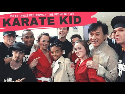 Karate Kid Premiere - London