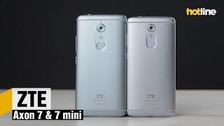 ZTE Axon 7 и Axon 7 mini — экспресс-обзор смартфонов