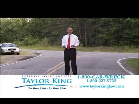 Taylor King Law - Personal Injury Lawyer - Arkansas - Rules of the Road - Cell Phone 08-2009