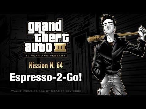 GTA 3 - iPad Walkthrough - Mission #64 - Espresso-2-Go!