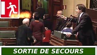 Laurent LOUIS Dénonce le Réseau Pédophile... Ils quittent la salle ! Belle quenelle à la fin.