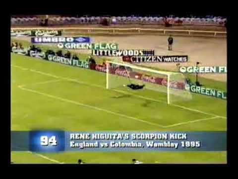 Rene Higuita. Parada Escorpion