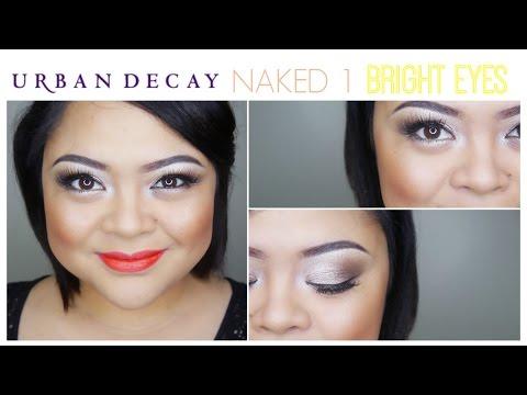 Bright Eyes! // Urban Decay Naked 1 Tutorial // villabeauTIFFul