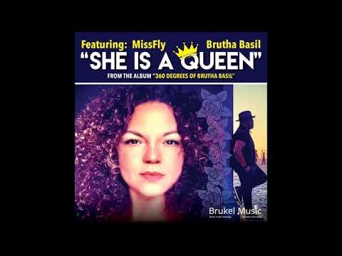 Kelvin Sylvester & Brutha Basil Feat MissFly - She's A Queen ( Brukel Music Vocal Mix)