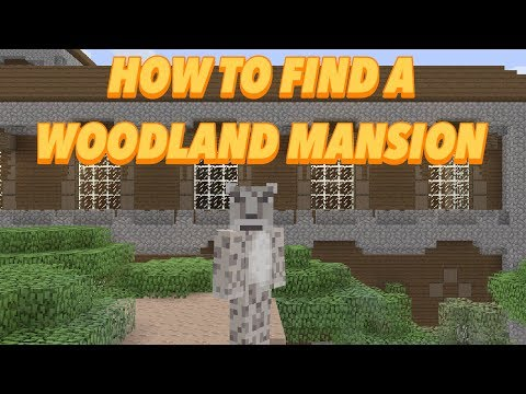 Minecraft Console - HOW TO FIND A WOODLAND MANSION - TU54