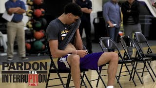 How Should Lonzo Ball Feel About Lakers Working Out De'Aaron Fox? | Pardon The Interruption | ESPN