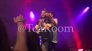 JOHNNY ORLANDO FORGETS TO CATCH KENZIE ZIEGLER AT THE DAY AND NIGHT CONCERT!!!