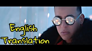 Daddy Yankee - Hielo English Translation | Lyrics & Letra