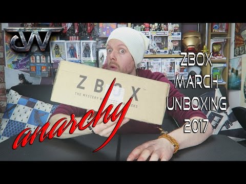 ZBOX Unboxing March 2017 | ANARCHY