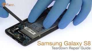Samsung Galaxy S8 Teardown Repair Guide - Fixez.com