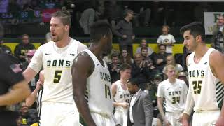 MBB | USF vs Harvard Highlights