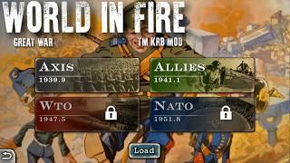 World Conqueror 2 World In Fire Great War TM KRB Mod