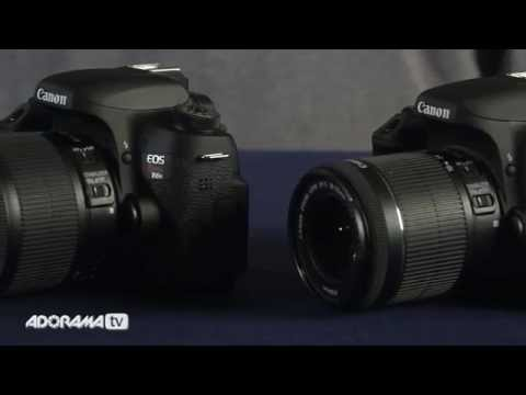 Canon EOS Rebel T6i/T6s Product Overview: Adorama