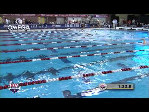 Men&#039;s 400m Freestyle A Final - 2012 Columbus Grand Prix1