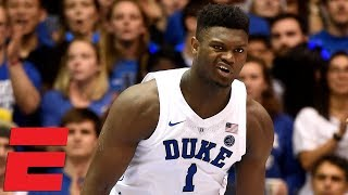 Top 10 Plays of Saturday in College Hoops including Zion39s nice move   College Basketball Highlights