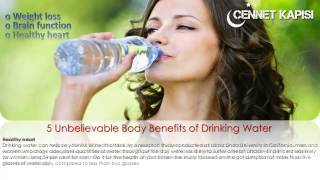 5 Unbelievable Body Benefits of Drinking Water - Watch now!