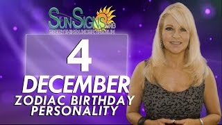 Facts & Trivia - Zodiac Sign Sagittarius December 4th Birthday Horoscope