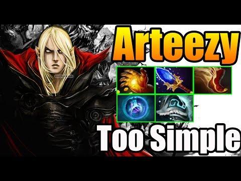 TOO SIMPLE For Arteezy [Invoker] Dota 2