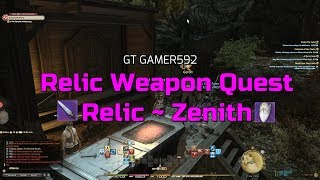 [LET'S PLAY] FINAL FANTASY XIV - Paladin Relic Weapon PATCH 4.5[COMMENTARY]