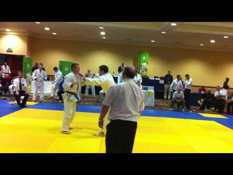 Irish Judo Open U81 Mamertas Maciukas Final Part.1