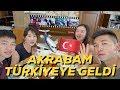 Koreliler İlk Defa Türk Kebabı Deniyor! My Family Tries Turkish Kebab for the First Time!