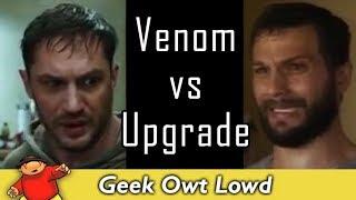 Sony's 'Venom' vs Blumhouse's 'Upgrade' - Trailer Comparison - Sucks to be Sony