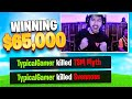 Typical Gamer Kills TSM Myth & Svennoss Winning $65,000!! (Fortnite Fall Skirmish Tournament)