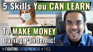 5 Skills To Learn During This Coronavirus Lockdown To Make More Money...