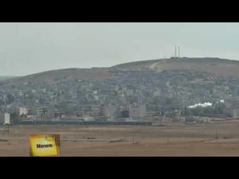 Упорные бои за город Кобани