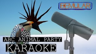 Bemular - ABC Animal Party (KARAOKE!)