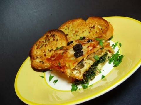 How To Make Vegetable Lasagna - Video Recipe