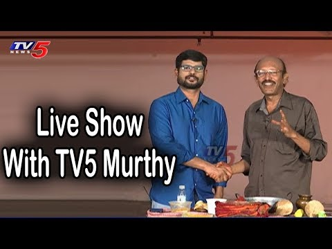 Special Live Show With TV5 Murthy LIVE | TV5 News