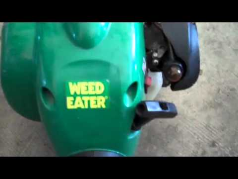 Weed trimmer with no compression