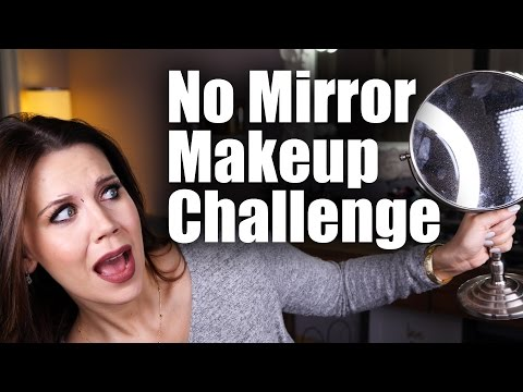 NO MIRROR MAKEUP CHALLENGE | Tati