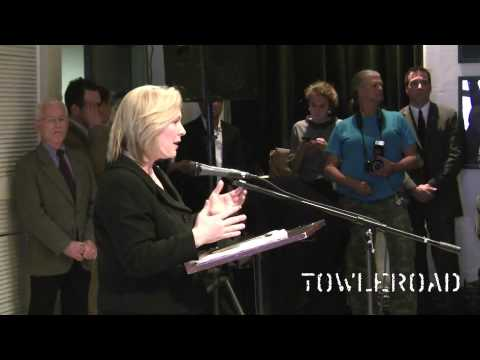 U.S. Senator Kirsten Gillibrand (D-NY) at New York's LGBT Center