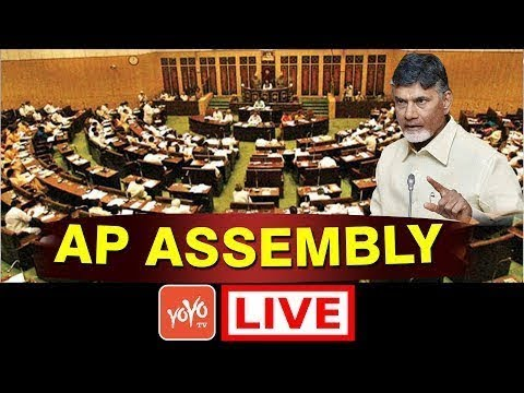 Chandrababu LIVE | AP Assembly Session LIVE | Day 5 | YS Jagan | YOYO TV Channel