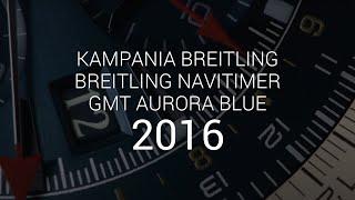 Breitling: Navitimer GMT Aurora Blue