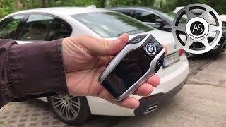 Magától ki- és beparkol a BMW 5-ös. Kulcsról vezérelt robocar? Cool!