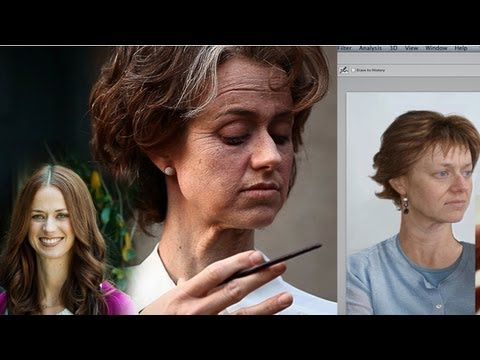 Beauty & Age Makeup: From Script to Screen - PREVIEW - Character Creation tutorial with Bill Corso