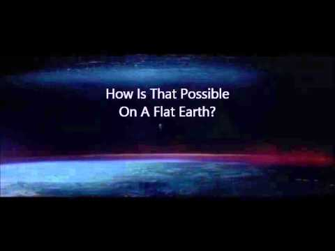 Upside Down Moon And Flat Earth