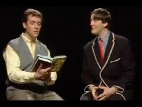 Suitable poetry sketch- A Bit of Fry and Laurie- BBC Comedy