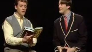 Suitable Poetry Sketch - A Bit of Fry and Laurie - BBC