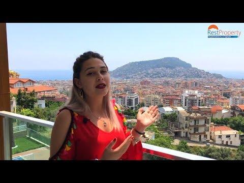 Недвижимость в Турции. Квартиры с видом на всю Аланию. Турция, Аланья 2018 || RestProperty
