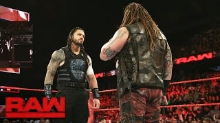 Things heat up between Bray Wyatt and Roman Reigns en route to Extreme Rules: Raw, May 22, 2017