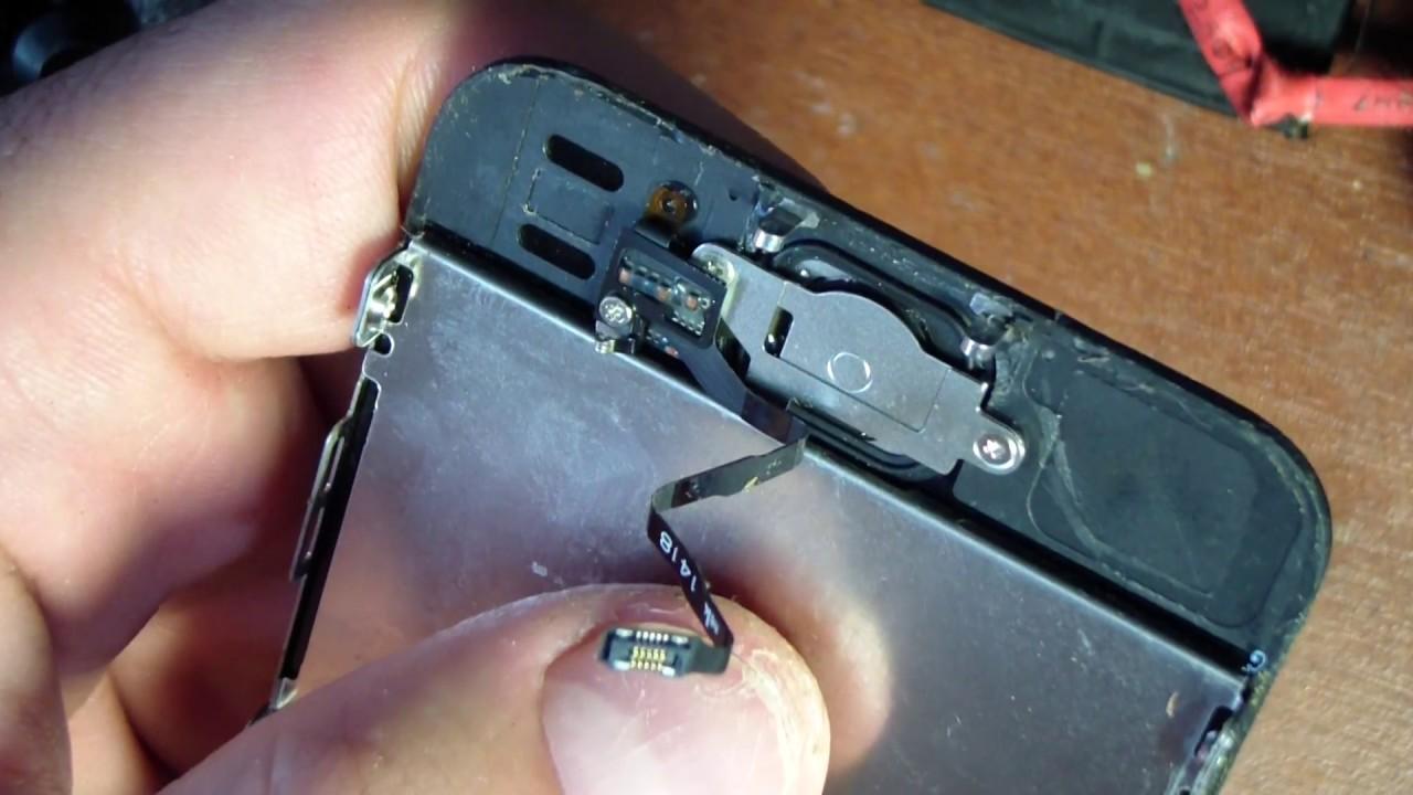 Iphone 5s как сделана кнопка
