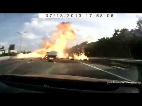 Accidentes de Camiones en Vivo. Compilation 2013. HD