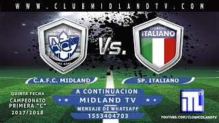 Мидланд : Спортиво Итальяно