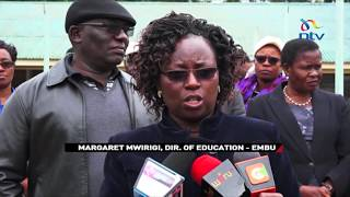 Nguviu school closed indefinitely after dorm fire; 3 students arrested