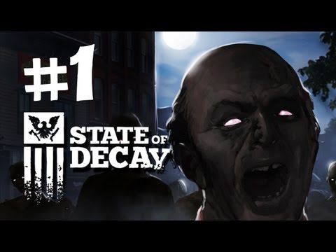 State of Decay Walkthrough -  Part 1 - Intro  (OPEN WORLD ZOMBIE GAME)