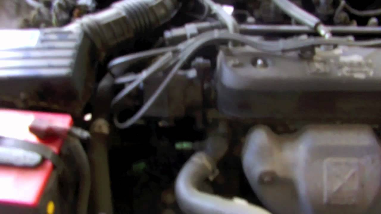 How to change oil on a 1992 Honda Accord - YouTube